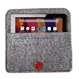 Bear Motion BMFIRE7FELTGRAY for New Fire 7 Tablet, Premium Felt Sleeve Case for the New Fire 7 ( (2017 and 2015 Model), Gray