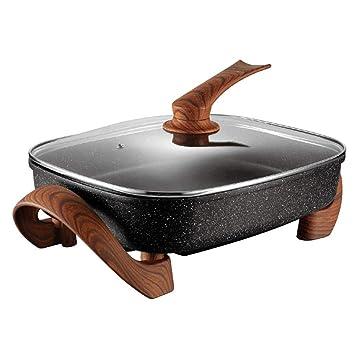 Fondue Hot Pot parrilla eléctrica, estilo KorUPC Hogar ...