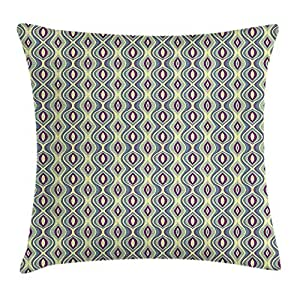 ZHIZIQIU Ethnic Throw Pillow Cushion Cover, Abstract Tribal ...