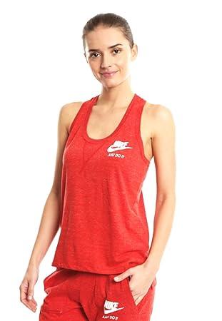 Nike W NSW Gym VNTG Tank – Shirt, Damen XS rot