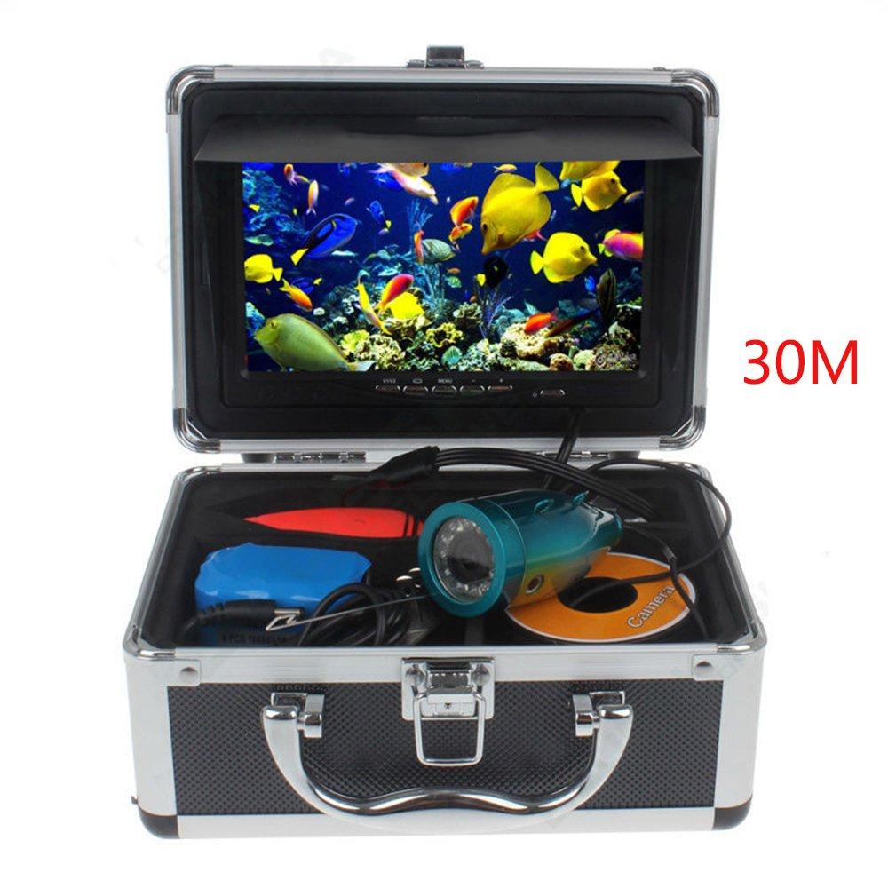 Visible Fish Finder 15M HD 1000TVLカメラ7インチ水中カメラ B07CQLJ54D 50M|Whitelight Whitelight 50M