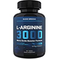 L-Arginine Nitric Oxide Booster - Male Enlargment Pills for Men - Nitric Oxide for...