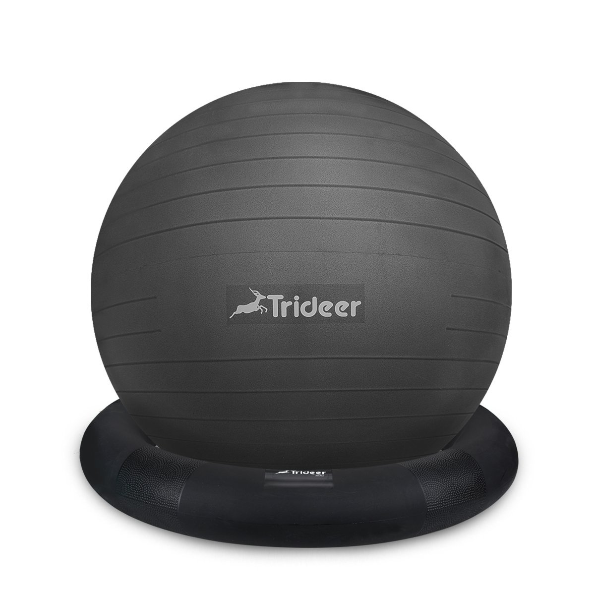 trideer 65 cmボール椅子柔軟なSeating Exerciseヨガバランスのボールと安定性向上のためのリング&ポンプ、Greatバランス&コア強度 B07CMC8C7H B07CMC8C7H Ball with with New Ball Ring (Black) 65cm 65cm|Ball with New Ring (Black), MALIBU WIG SHOP:e8c5c5f3 --- sodern.se
