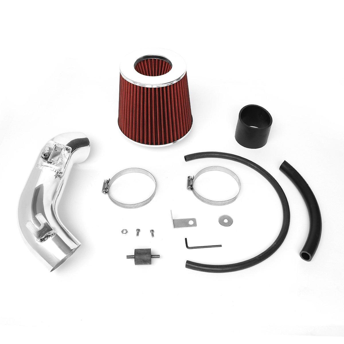 For 06-11 Honda Civic DX LX DNA Motoring ITK-0042-RD Air Intake System Red