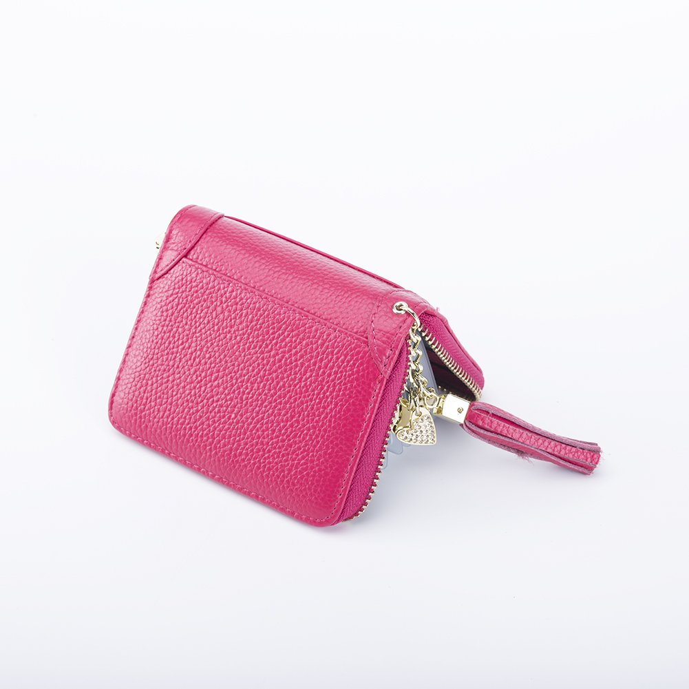 SYGY Women's Credit Card Holder purse (Red) by SYGY (Image #2)