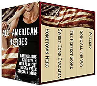 book cover of All-American Heroes Box Set