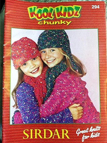 KOOL KIDZ chunky 294 (Sirdar Great Knits For Kids)