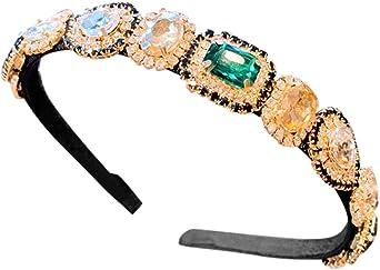 Chrystyna - Hot Sale - Diadema para mujer, mini accesorios verde ...