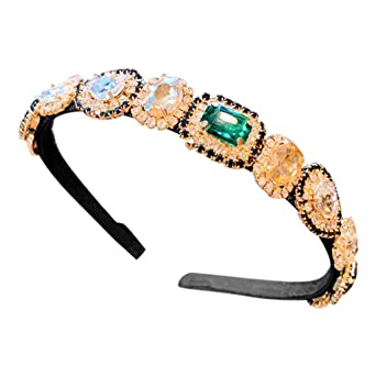 Chrystyna - Hot Sale - Diadema para mujer, mini accesorios verde ...