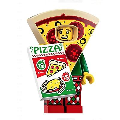 LEGO Minifigures Series 19: Pizza Suit Guy Minifigure 71025: Toys & Games