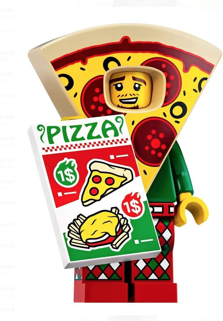 LEGO Series Minifigures 19 Pizza Suit Guy Minifigure 71025