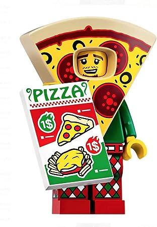 LEGO MINI FIGURES SERIES 19 PIZZA COSTUME GUY # 10
