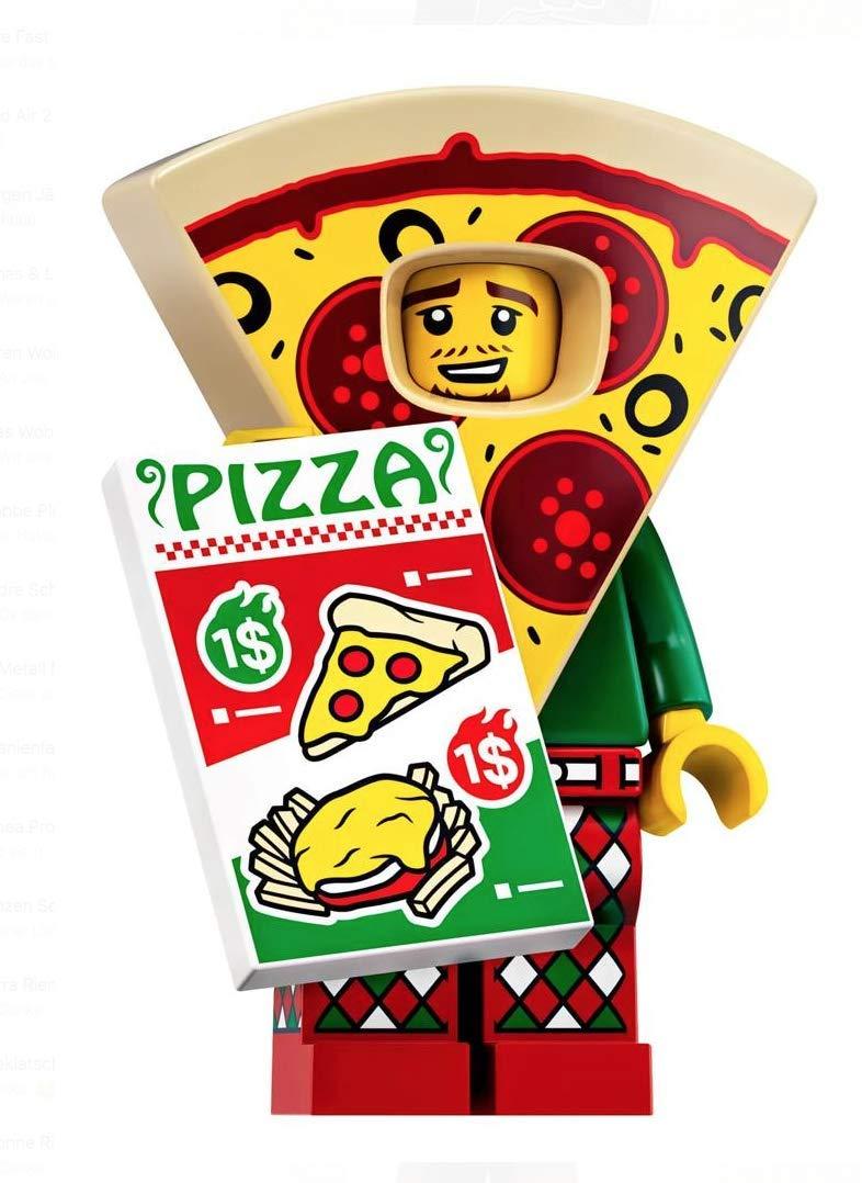 LEGO Minifigures Series 19: Pizza Suit Guy Minifigure 71025