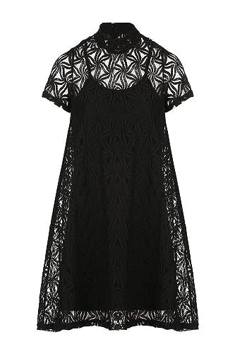 Izabel London –  Vestito  – linea ad a – Donna Black 42