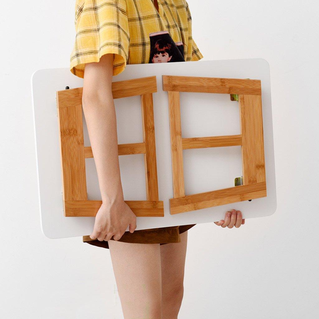 Amazon.com: NYJS Adjustable Laptop Bed Stand,Escritorio De La Computadora, Mesa Plegable, Sentado En La Cama Con Un Escritorio, Pequeña Mesa Portátil, ...