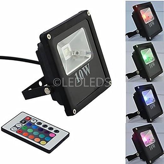 FOCO PROYECTOR LED RGB AIPIY SLIM, DISEÑO CON TEXTO GRAN ...