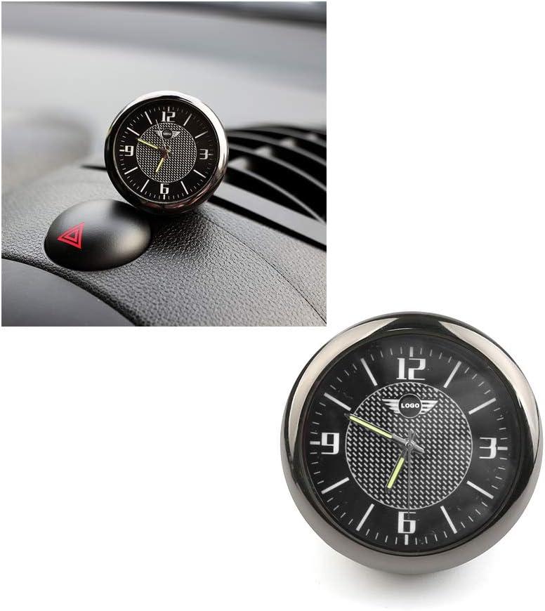 /à poser vers a/ération de ventilation d/écoration pour Mini Cooper JCW S F55 56 F60 R55 R56 R60 Countryman CCJ Horloge universelle pour int/érieur de voiture motif Union Jack
