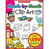 Month-by-Month Clip Art Book