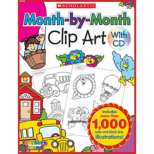 Month-by-Month Clip Art ()