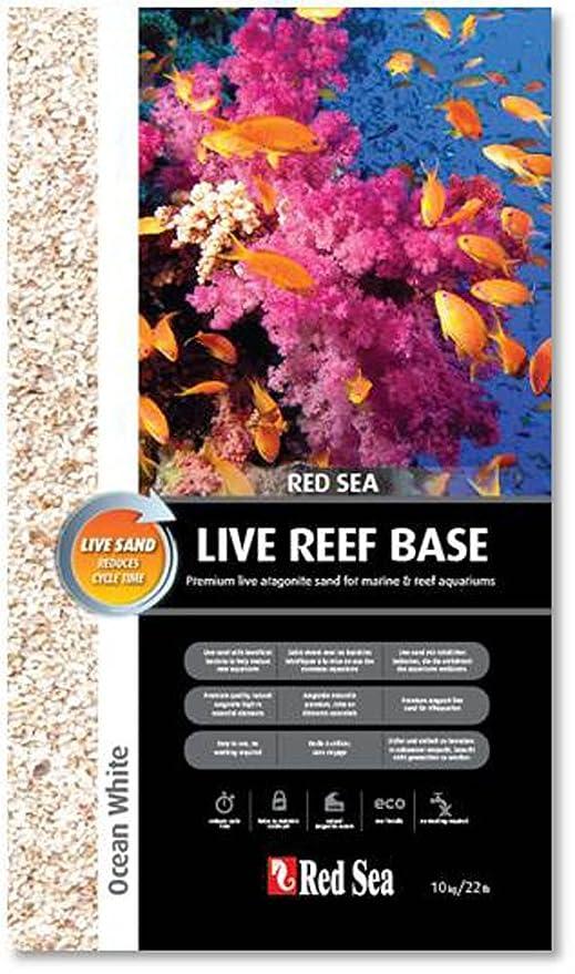 Red Sea Arena para acuarios RS Ocean White Live, aragonita, 10 kg