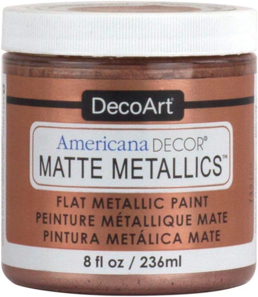 Deco Art Americana Decor Matte 8OZ RSE Gold Craft Paint