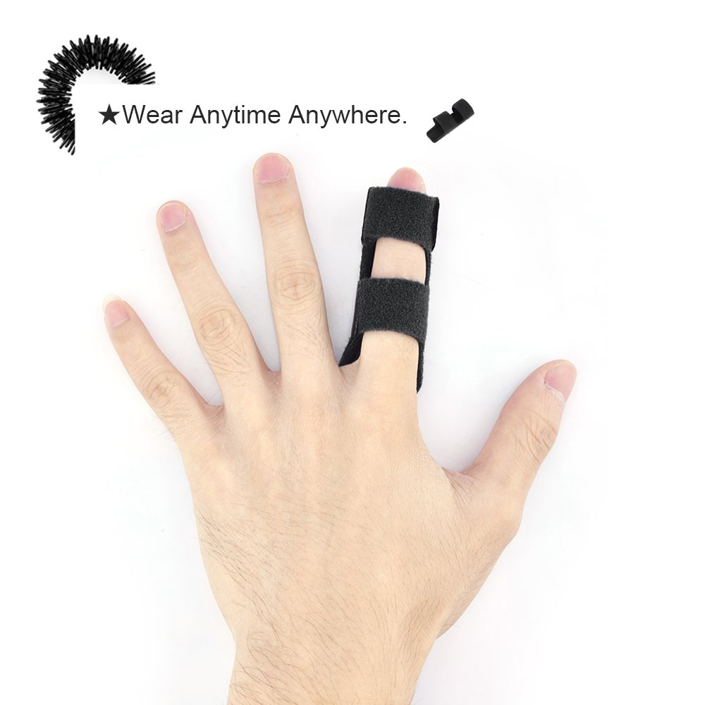 MUMUSAN Finger Splint immobilizer, Acupressure Finger ...