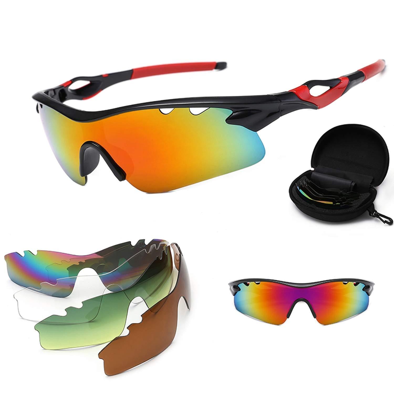 Polarized Cycling Sunglasses Unisex Outdoor Photochromic Uv400 Goggles Glasses