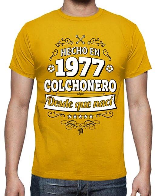 En Camiseta Latostadora 1977 Colchonero Hecho Para HombreHello wOPm8n0yNv