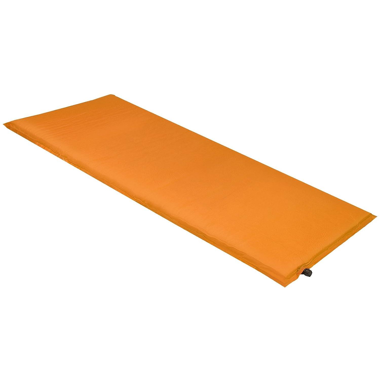 ALPIDEX Isomatte Selfinflating Matte Selbstaufblasende Outdoor Thermomatte in Verschiedene Größen und Farben, Farbe:orange, Maße:190 x 60 x 2.5 cm