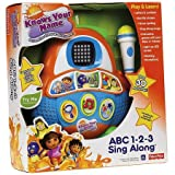 Nickelodeon Knows Your Name ABC 123 Sing Along Programmable Music Player
