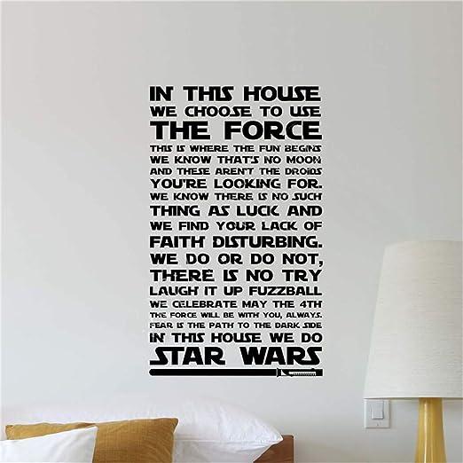 Pegatina De Pared Pegatina De Pared Frases En Esta Casa