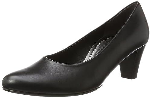 Gabor Basic, Zapatos de Tacón para Mujer, Negro (Schwarz), 35.5 EU Gabor