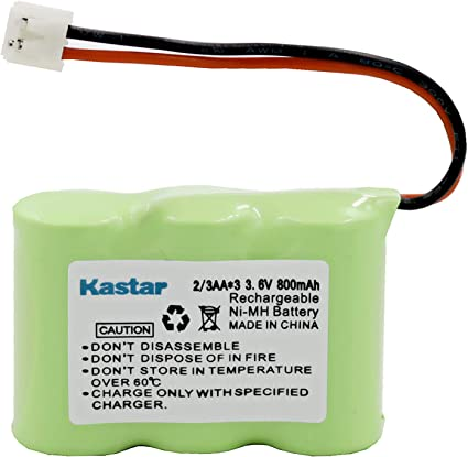 Vtech 80-5074-00-00 Cordless Phone Battery Replacement For 3-1//2AA w//JST Battery