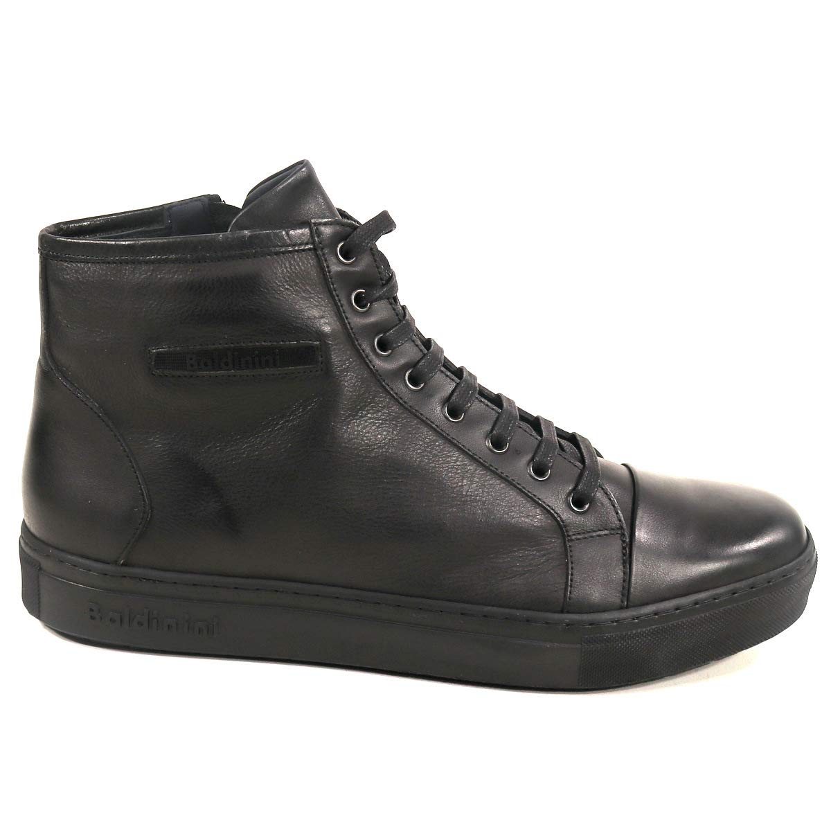 d58b445cb Amazon.com | BALDININI 🇮🇹 Italian Shoes 👞 Men Black Shoes Leather and  Suede Winter. Mens Casual Shoes | Fashion Sneakers