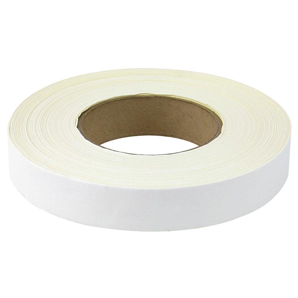 BookGuard Premium Cloth Book Binding Repair Tape 1''W x 60yd Roll (White)