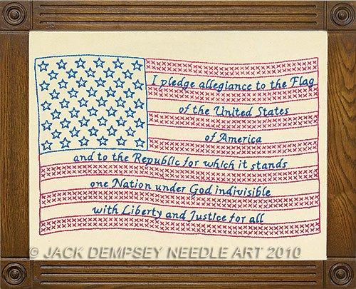 Jack Dempsey Stamped Antique Sampler 11
