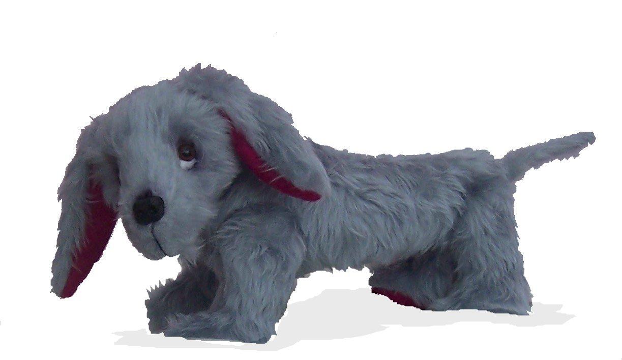 Pack von drei verspielt, Fun Plüschtiere Hund Schnittmuster. Puppy ...
