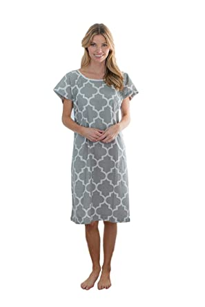 44179814e4ad Amazon.com: Gownies - Designer Hospital Patient Gown, 100% Cotton, Hospital  Stay: Clothing