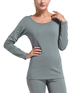 8e77a73d5b539 Baleaf Women's Heavy Weight Thermal Shirt Tops Compression Base Layer  Underwear