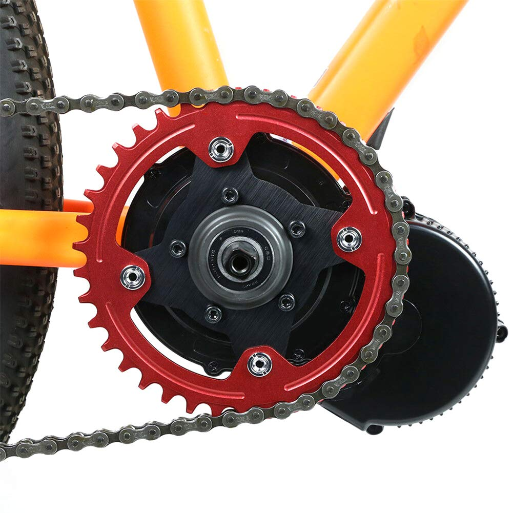 Brightstars88 Chain Ring Spider Adapter Disc Holder Stand for Bafang Electric Motor