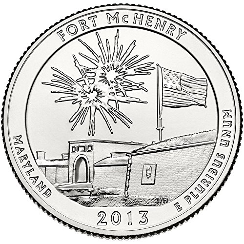 2013 D Fort McHenry National Monument Quarter Choice Uncirculated