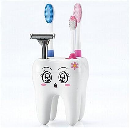 Vaso para cepillos de dientes de dibujos animados Hangqiao