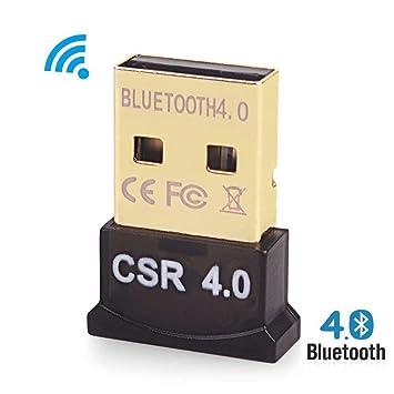 Bluetooth 4.0 USB Adaptador Dongle Stick para PC, portátil, laptop. compatible con Windows XP, Vista, 7, 8, 10 y Linux: Amazon.es: Informática