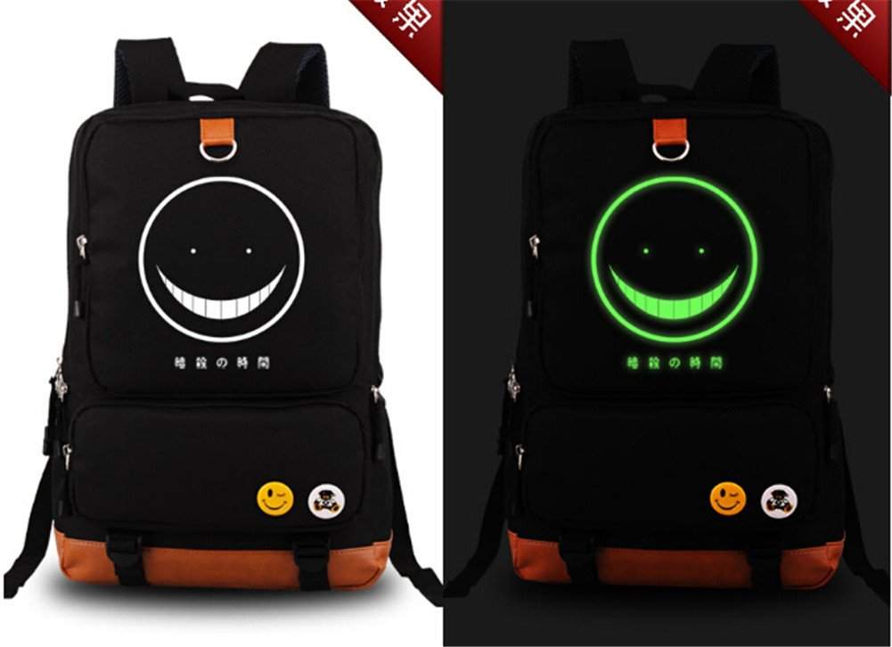 YOYOSHome Assassination Classroom Anime Cosplay Luminous Bookbag Backpack School Bag