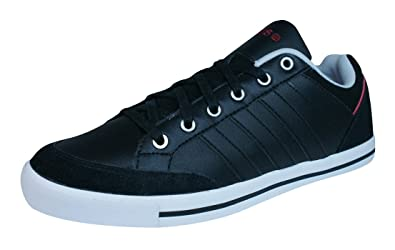 adidas Neo Cacity Mens Leather Trainers/Shoes-Black-7.5