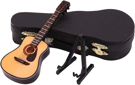 Jfhrfged Escalera 10 cm Folk Color Madera Modelo de Guitarra Accesorios para escenarios FAI-da-Te Mejor niños, Amarillo, Free Size: Amazon.es: Deportes y aire libre