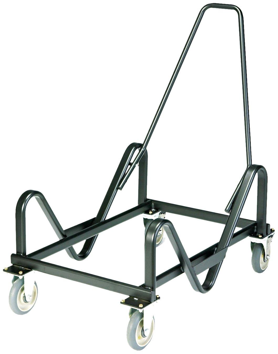 HON 4033T GuestStacker Truck Cart, 28-Chair Capacity, 21-3/8w x 35-1/2d x 37-7/8h, Black