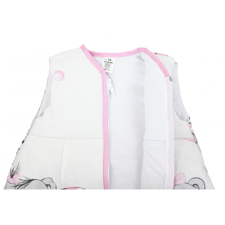 Gr/ö/ße 62-74 TupTam Baby Unisex Schlafsack /Ärmellos Wattiert Imagine Rosa Farbe