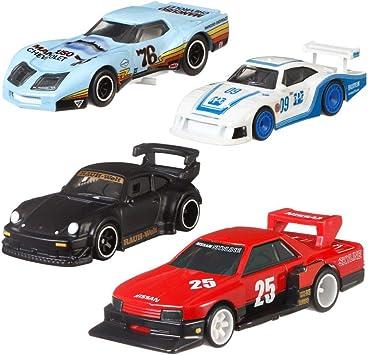 Hot Wheels Car Culture Super Silhouettes Premium Cars Set | Coche Mattel FPY86, Vehículo:Conjunto de 4: Amazon.es: Juguetes y juegos
