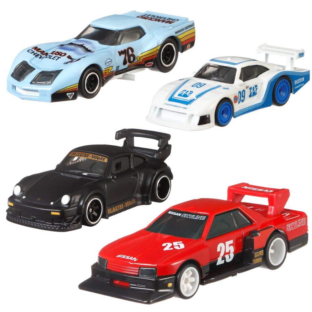 Hot Wheels Car Culture Super Silhouettes Premium Cars Set | Mattel FPY86, Vehicle:Set of 4